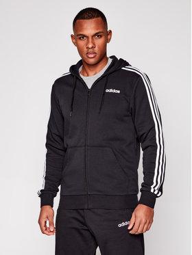 adidas adidas Bluză Essentials 3 Stripes DQ3102 Negru Regular Fit