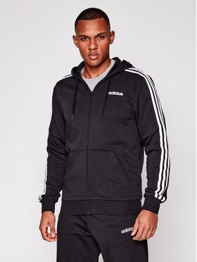 adidas adidas Суитшърт Essentials 3 Stripes DQ3102 Черен Regular Fit