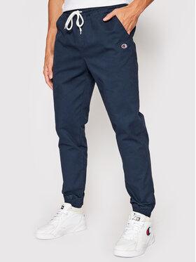 Champion Champion Jogger kelnės Twill Cuffed 215193 Tamsiai mėlyna Custom Fit