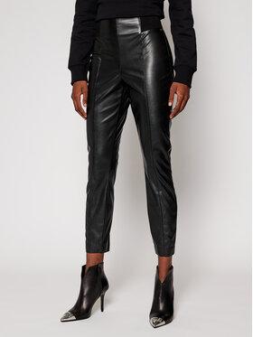 Pennyblack Pennyblack Kožené nohavice Fronda 27840120 Čierna Slim Fit