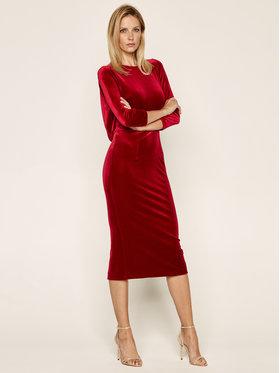 Nissa Nissa Vakarinė suknelė RS11899 Raudona Slim Fit