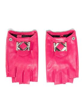KARL LAGERFELD KARL LAGERFELD Dámské rukavice 205W3601 Růžová