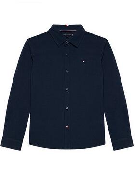 Tommy Hilfiger Tommy Hilfiger Πουκάμισο Stretch Pique Shirt KB0KB06332 Σκούρο μπλε Regular Fit