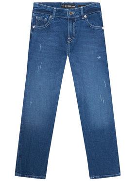 Guess Guess Jeansy L1RA14 D4B91 Niebieski Slim Fit
