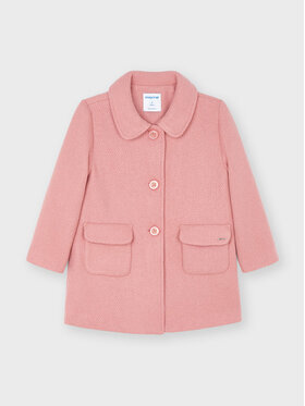 Mayoral Mayoral Cappotto di transizione 4434 Rosa Regular Fit