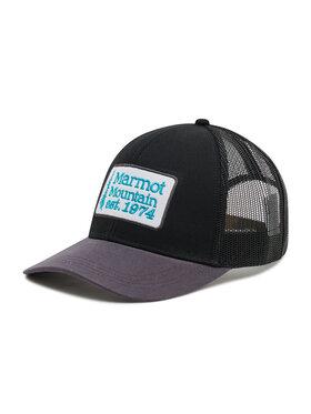 Marmot Marmot Czapka z daszkiem Retro Trucker Hat 16410 Czarny