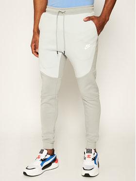 NIKE NIKE Teplákové kalhoty Tech Fleece Jogger 805162 Šedá Slim Fit