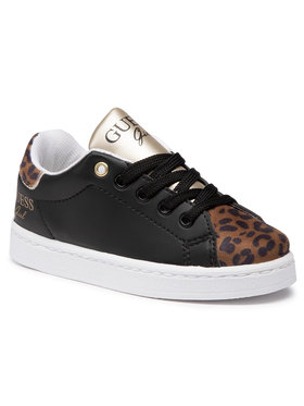 Guess Guess Sneakersy Lucy FI7LUC ELE12 Czarny