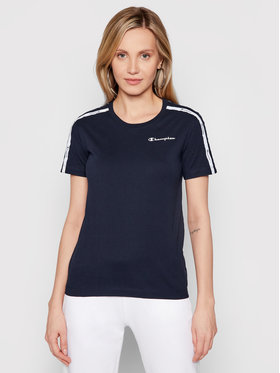 Champion Champion T-shirt Crewneck 113086 Bleu marine Regular Fit