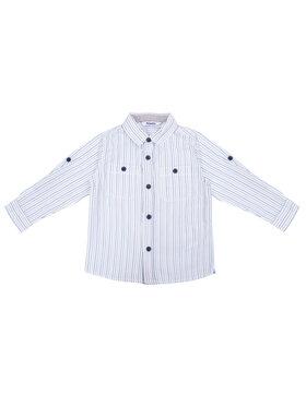 Primigi Primigi Риза 43161011 Бял Regular Fit