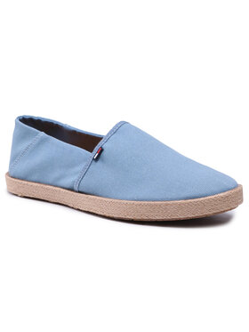 Tommy Jeans Tommy Jeans Еспадрили Essential Espadrille EM0EM00677 Син