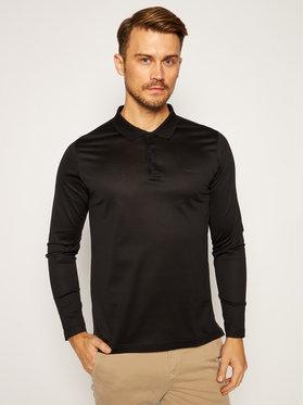 KARL LAGERFELD KARL LAGERFELD Тениска с яка и копчета Press 745000 502200 Черен Regular Fit