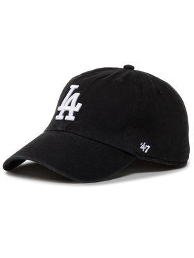 47 Brand 47 Brand Cap Mlb Los Angeles Dodgers '47 Clean Up B-RGW12GWS-BKJ Schwarz