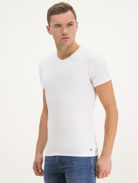 TOMMY HILFIGER TOMMY HILFIGER Komplet 3 t-shirtów Vn Tee Ss 3 Pack Premium Essentialis 2S87903767 Biały Regular Fit