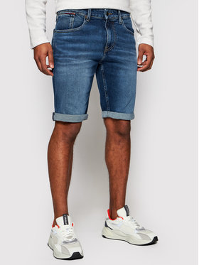 Tommy Jeans Tommy Jeans Дънкови шорти Ronnie DM0DM10557 Тъмносин Relaxed Fit