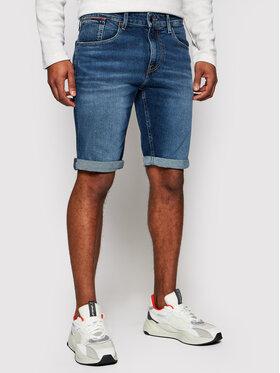 Tommy Jeans Tommy Jeans Pantaloni scurți de blugi Ronnie DM0DM10557 Bleumarin Relaxed Fit
