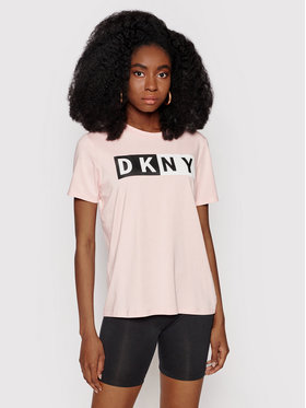 DKNY Sport DKNY Sport Póló DP1T5894 Rózsaszín Regular Fit