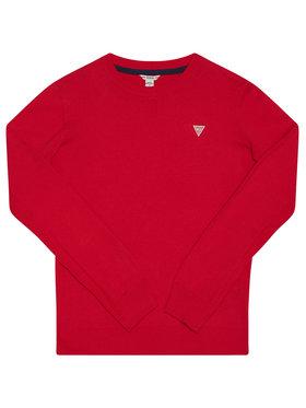 Guess Guess Megztinis L0YR03 Z1DC0 Raudona Regular Fit