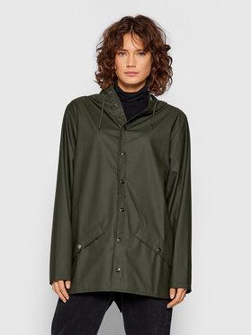 Rains Rains Veste imperméable Unisex 1201 Vert Regular Fit