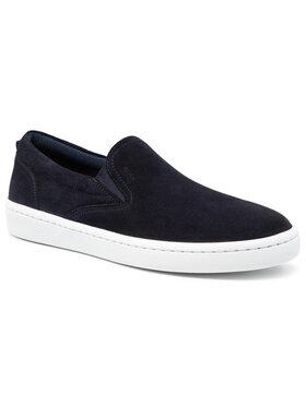 Boss Boss Sneakers aus Stoff Riberia Slon 50454969 10231455 01 Dunkelblau