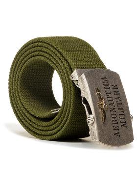 Aeronautica Militare Aeronautica Militare Pánský pásek Cintura 211CI262CT2300 Zelená