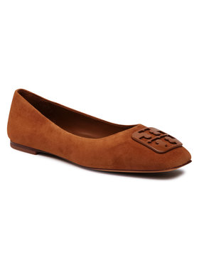 Tory Burch Tory Burch Ballerine Georgia Ballet 76545 Marrone