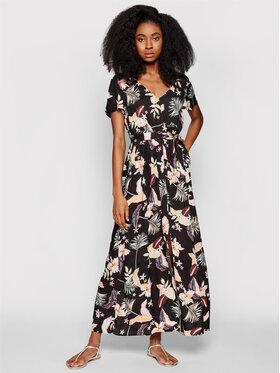 Roxy Roxy Letné šaty A Night To Remember ERJWD03577 Čierna Regular Fit