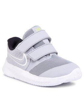 Nike Nike Boty Star Runner 2 (TDV) AT1803 005 Šedá
