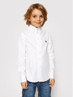 Polo Ralph Lauren Polo Ralph Lauren Marškiniai 323819238001 Balta Slim Fit