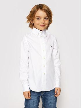 Polo Ralph Lauren Polo Ralph Lauren Риза 323819238001 Бял Slim Fit