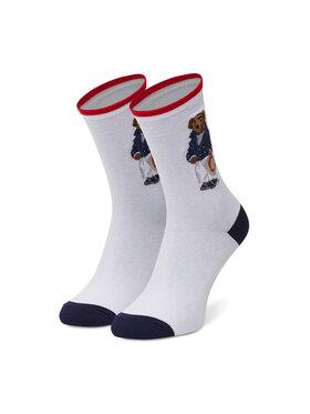 Polo Ralph Lauren Polo Ralph Lauren Vysoké dámske ponožky Nevis Biela