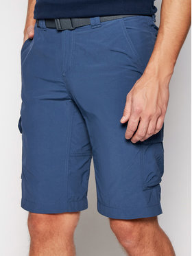 Columbia Columbia Pantaloni scurți sport Silver Ridge II 1794921 Albastru Regular Fit