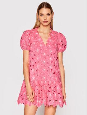 Red Valentino Red Valentino Letní šaty VR0VA17Y Růžová Regular Fit