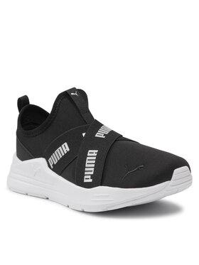 Puma Puma Sportcipő Wired Run Slipon Wmns 382299 01 Fekete