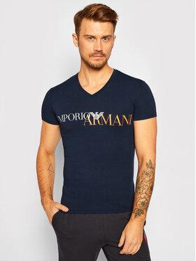 Emporio Armani Underwear Emporio Armani Underwear Póló 110810 0A516 00135 Sötétkék Slim Fit