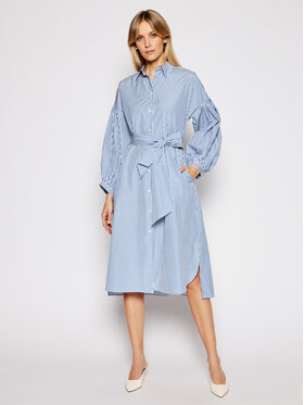 Weekend Max Mara Weekend Max Mara Marškinių tipo suknelė Ragazza 52210311 Mėlyna Regular Fit