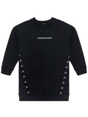 Calvin Klein Jeans Calvin Klein Jeans Hétköznapi ruha Monogram Tape IG0IG00710 Fekete Regular Fit