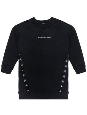 Calvin Klein Jeans Calvin Klein Jeans Sukienka codzienna Monogram Tape IG0IG00710 Czarny Regular Fit