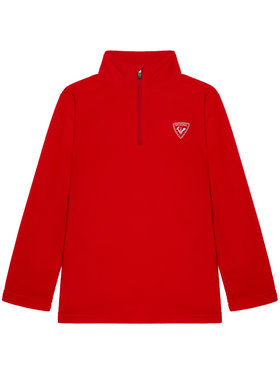 Rossignol Rossignol Polar 1/2 Zip Fleece RLIYL05 Czerwony Regular Fit