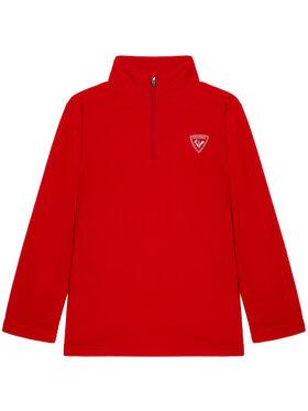 Rossignol Rossignol Polar 1/2 Zip Fleece RLIYL05 Roșu Regular Fit