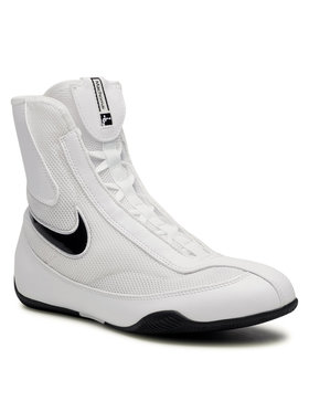 Nike Nike Chaussures Mid Boxing Shoe 333580 101 Blanc