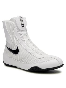 Nike Nike Обувки Mid Boxing Shoe 333580 101 Бял
