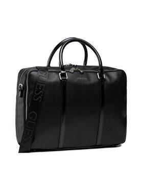 Guess Guess Чанта за лаптоп Evening (Lizard) HMEVNL P1314 Черен