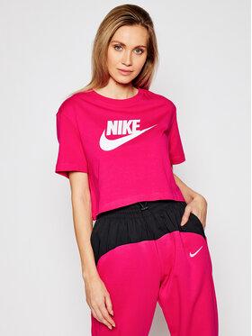 Nike Nike Marškinėliai Sportswear Essential BV6175 Rožinė Loose Fit