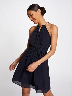 Morgan Morgan Kokteilinė suknelė 211-RNESSA Tamsiai mėlyna Regular Fit