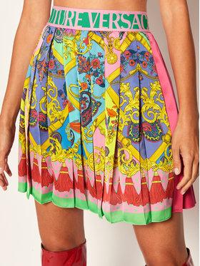 Versace Jeans Couture Versace Jeans Couture Plisovaná sukně A9HZA302 Růžová Regular Fit