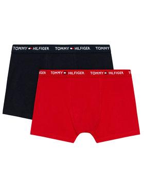 Tommy Hilfiger Tommy Hilfiger Σετ 2 ζευγάρια μποξεράκια UB0UB00387 Έγχρωμο
