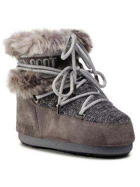 Moon Boot Moon Boot Μπότες Χιονιού Mars Wool Fur 14401100002 Γκρι