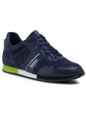 Boss Boss Sneakersy J29225 D Tmavomodrá