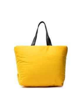 Desigual Desigual Дамска чанта 21WAXA89 Жълт